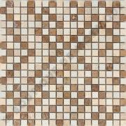 MM1507 mosaïque travertin 30 x 30 cm
