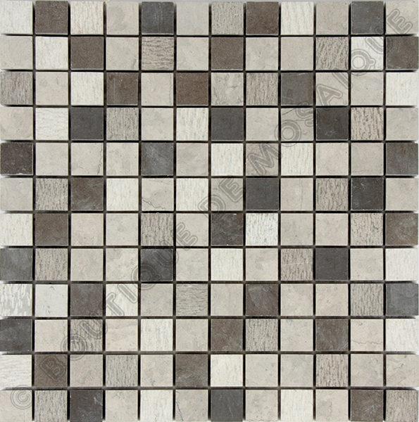 MM2305 mosaïque gris 30 x 30 cm