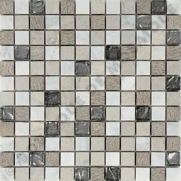MM2306 mosaïque izmir bianco 30 x 30 cm