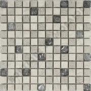 MM2307 mosaïque izmir gris 30 x 30 cm