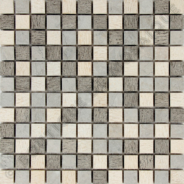 MM2308 mosaique bary gris 30 x 30 cm