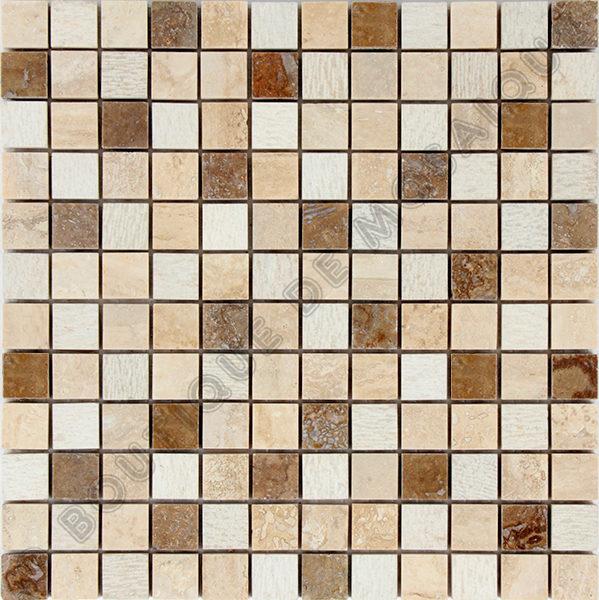 MM2314 mosaïque travertin 30 x 30 cm