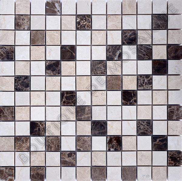 MM2315 mosaïque mixte emperador 30 x 30 cm