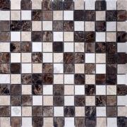 MM2316 mosaïque emperador dark 30 x 30 cm