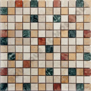 MM2318 mosaïque bary botticino 30 x 30 cm