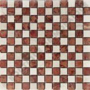 MM2319 mosaïque nihed rosso 30 x 30 cm