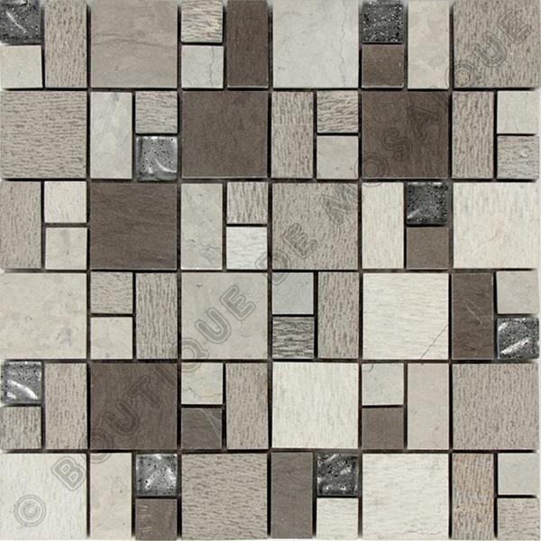 MMV13 mosaïque quadro gris 30 x 30 cm