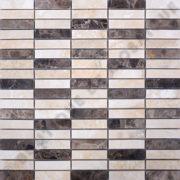 MMV25 mosaïque linear emperador 30 x 30 cm