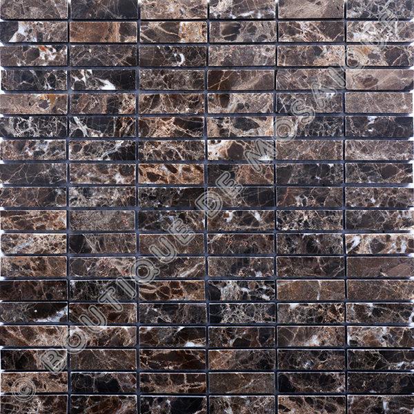 MMV32 mosaïque emperador dark 30 x 30 cm