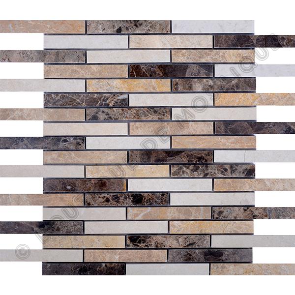 MMV11 mosaïque bozen emperador 30 x 30 cm