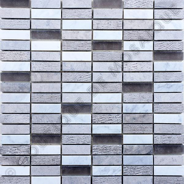 MMV31 mosaïque alabasta gris 30 x 30 cm