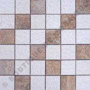 MM4818 mosaïque travertin noce - thala beige roulato