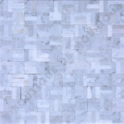 MMV58 mosaique bianco carrara sans joint