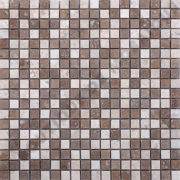 MM1518 mosaïque mix travertin