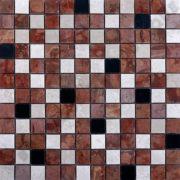 MM2323 mosaïque mix rouge