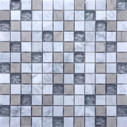 MM2327 mosaïque izmir thala gris