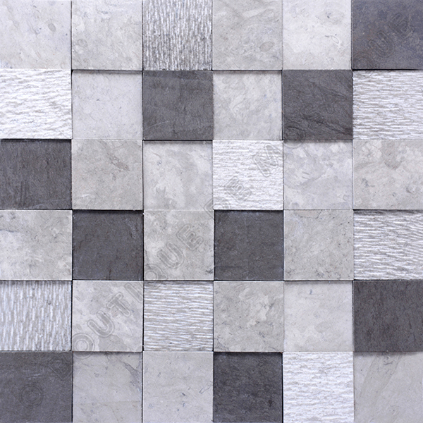 MM4837 mosaïque hannover gris