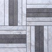 MMV125 Mosaïque marco gris mix