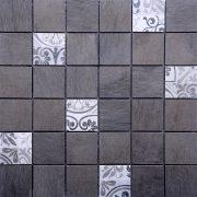 MMC46 Mosaïque gris foussana 48x48 TSG